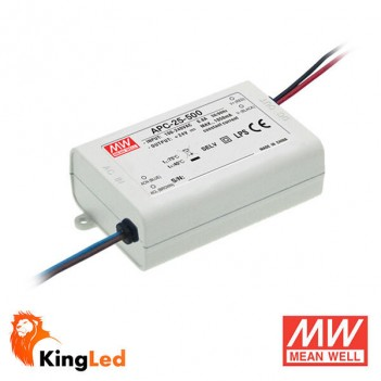 Meanwell Led Power Supply APC-25-500 25W Constant Current 15-50V