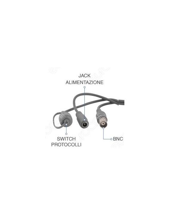 Telecamera Bullet 4MP Ottica Varifocale 2.8-12 mm TVI – HiLook