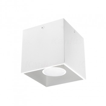 Applique da Soffitto Cubo per Faretto Led GU10 - da Interno -
