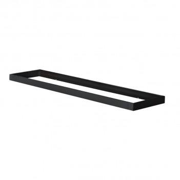 Cornice Universale Nero per Pannello 120x30 per Installazione a