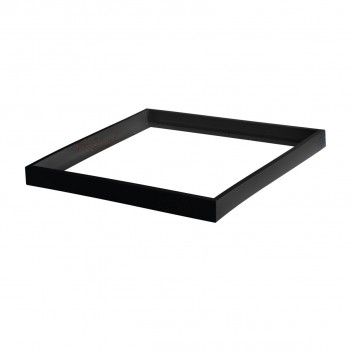 Cornice Universale Nero per Pannello 60x60 Installazione a