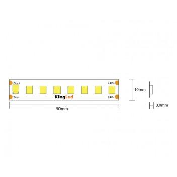 Led Strip H.E. Series 60W 9000lm 24V IP20 PCB 8mm 800 reel SMD