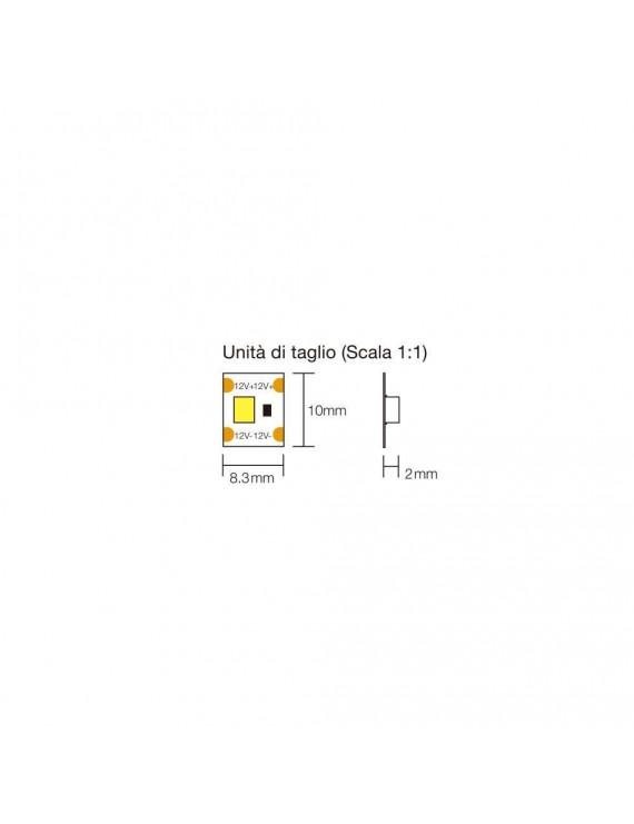 Striscia Led Tagliabile a Ogni Led 480W 48.000 Lumen 24V IP20